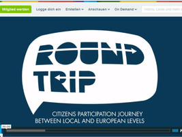 Round-Trip International Conference: Reinforcing Local Participation for a Democractic Europe