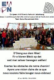 Rencontre participative pour l'inclusion sociale, Luxembourg 2013
